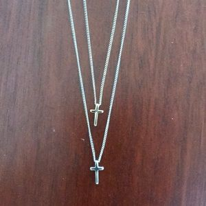 Layered necklace from Zara